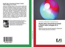 Bookcover of Analisi del C-terminale di Xotx2 e Xotx5 nello sviluppo di X. laevis