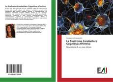 Capa do livro de La Sindrome Cerebellare Cognitivo Affettiva