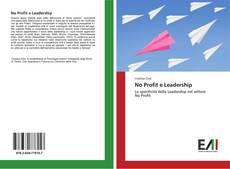 Buchcover von No Profit e Leadership