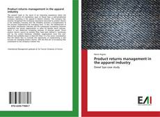 Bookcover of Product returns management in the apparel industry