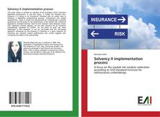 Bookcover of Solvency II implementation process