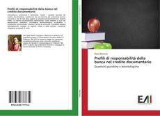Profili di responsabilità della banca nel credito documentario kitap kapağı