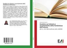 Bookcover of Giudizio sul silenzio e accertamento della fondatezza dell'istanza