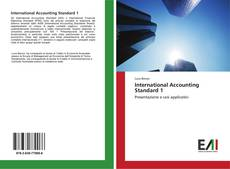 Bookcover of International Accounting Standard 1