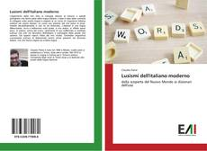 Lusismi dell'italiano moderno kitap kapağı