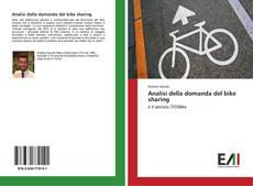 Analisi della domanda del bike sharing kitap kapağı