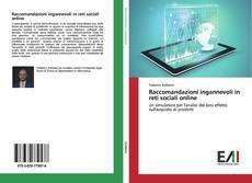 Buchcover von Raccomandazioni ingannevoli in reti sociali online