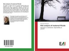 Bookcover of Risk analysis of maternal filicide
