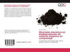 Portada del libro de Mezclado mecánico en biodegradación de materia orgánica en compostaje