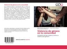 Capa do livro de Violencia de género en la comunidad