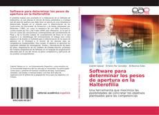 Portada del libro de Software para determinar los pesos de apertura en la Halterofilia