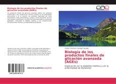 Portada del libro de Biología de los productos finales de glicación avanzada (AGEs)