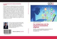 Capa do livro de La empresa en la nueva economía digital