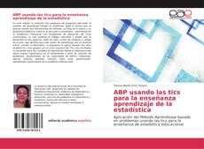 Portada del libro de ABP usando las tics para la enseñanza aprendizaje de la estadística