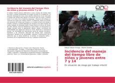 Bookcover of Incidencia del manejo del tiempo libre de niños y jóvenes entre 7 y 14