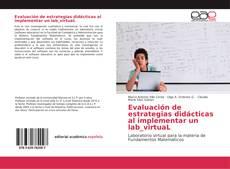 Buchcover von Evaluación de estrategias didácticas al implementar un lab_virtuaL