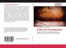 Обложка Taller de Investigación