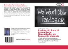 Borítókép a  Evaluación Para el Aprendizaje: Necesidades de formación docente - hoz