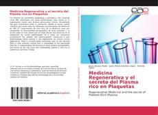 Buchcover von Medicina Regenerativa y el secreto del Plasma rico en Plaquetas