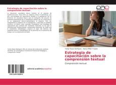 Обложка Estrategia de capacitación sobre la comprensión textual