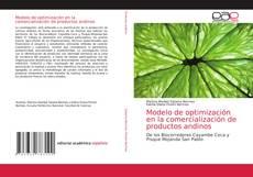 Buchcover von Modelo de optimización en la comercialización de productos andinos