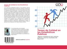 Temas de Calidad en las Estadísticas Publicas kitap kapağı