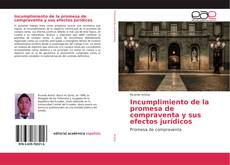 Capa do livro de Incumplimiento de la promesa de compraventa y sus efectos jurídicos