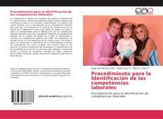 Portada del libro de Procedimiento para la Identificación de las competencias laborales