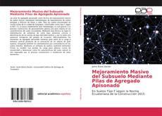 Bookcover of Mejoramiento Masivo del Subsuelo Mediante Pilas de Agregado Apisonado