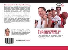 Bookcover of Plan comunitario de actividades físicas