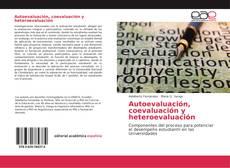 Обложка Autoevaluación, coevaluación y heteroevaluación