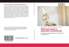 Capa do livro de Mito personal y solución existencial