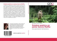 Buchcover von Palabra poética en Jaime García Maffla