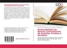 Buchcover von Sostenibilidad de Bancos Comunitarios de Semillas Criollas y Acriollas