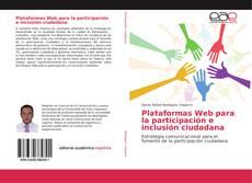 Buchcover von Plataformas Web para la participación e inclusión ciudadana
