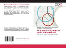 Bookcover of Evaluación formativa en la Universidad