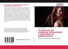 Trastornos de conducta alimentaria y obesidad en adolescentes kitap kapağı
