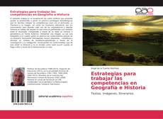 Bookcover of Estrategias para trabajar las competencias en Geografía e Historia