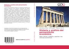 Buchcover von Historia y análisis del pensamiento económico