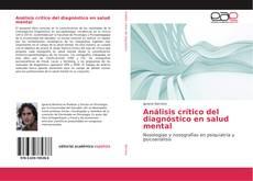 Обложка Análisis crítico del diagnóstico en salud mental