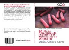 Capa do livro de Estudio de Mecanismos de Resistencia en Aislamientos de Shigella spp