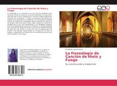 Обложка La fraseología de Canción de Hielo y Fuego