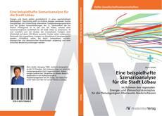 Bookcover of Eine beispielhafte Szenarioanalyse für die Stadt Löbau