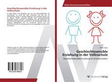 Portada del libro de Geschlechtssensible Erziehung in der Volksschule