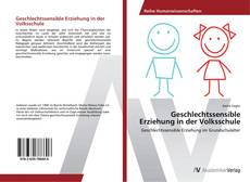 Geschlechtssensible Erziehung in der Volksschule的封面
