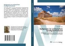 Bookcover of Kultpraxis im archaischen Großgriechenland
