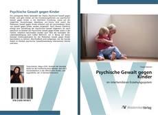 Couverture de Psychische Gewalt gegen Kinder