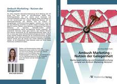 Bookcover of Ambush Marketing - Nutzen der Gelegenheit