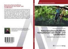 Portada del libro de Naturwisschenschaftliche Kompetenzen von Stadt- und Landkindern
