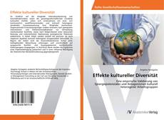 Bookcover of Effekte kultureller Diversität
